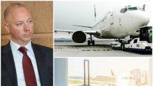 Министър Росен Желязков назначи одит на Гражданско въздухоплаване