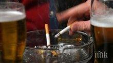 СТАТИСТИКА: 40% от мъжете и 18% от жените у нас пушат ежедневно