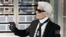 Почитат Лагерфелд на мъжката модна седмица в Париж