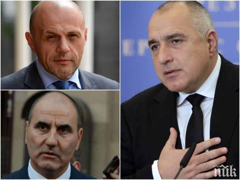НАПРЕЖЕНИЕ В ГЕРБ! Борисов мълчи, депутатите се снишават. Спрягат Дончев за стола на Цветанов
