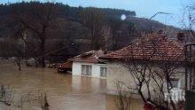 Къщи в Николаево наводнени заради пороя