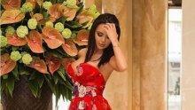 БАРОВКА: Чалга фурията Мария блести в рокля за 15 бона