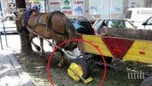 ХИТ В ПИК: Сложиха скоба на каруца с кон