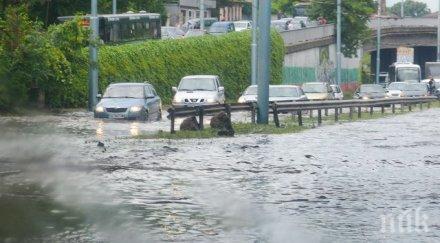 В Пловдив рекорд - 69 л дъжд на кв. метър