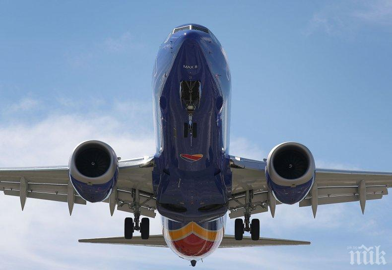 Намериха дефектно произведени елементи в самолетите Боинг 737 МАХ и 737 NG