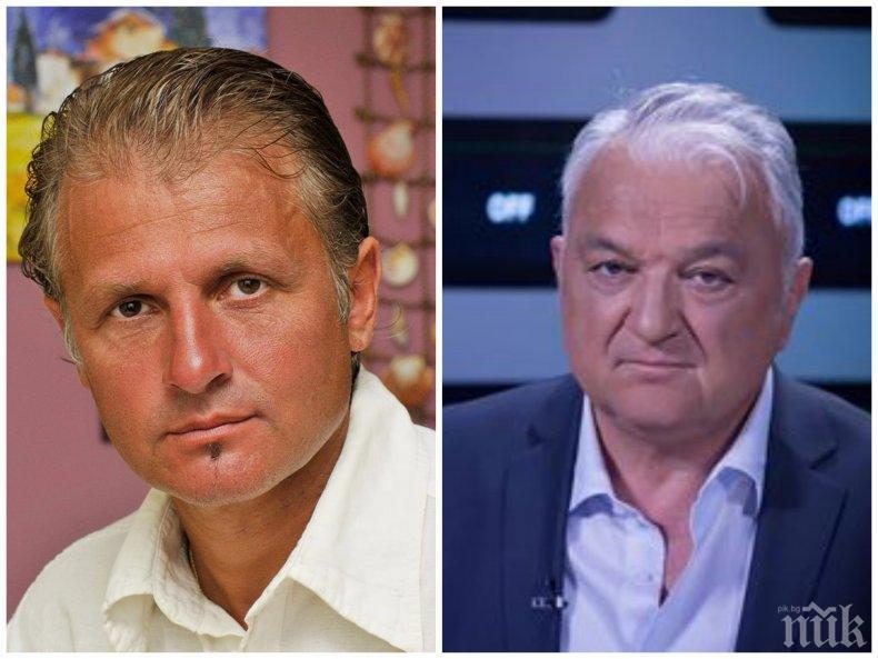САМО В ПИК: Къци Вапцаров готов за битката за БНТ: Сашо Диков ми е астрален близнак! Силен е и борбен