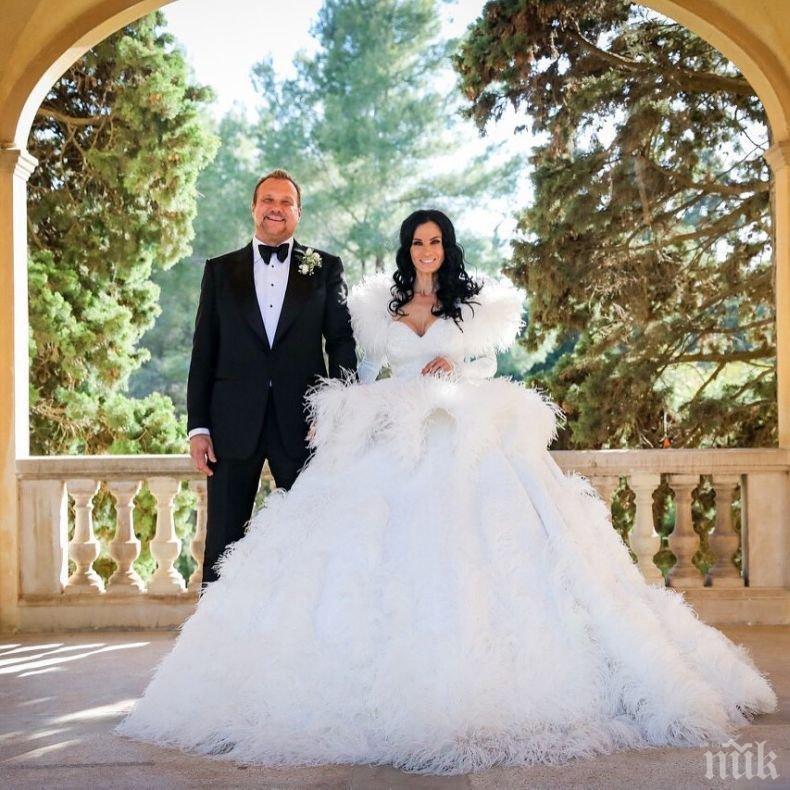 ПРИКАЗНО: Ето го официалното ВИДЕО от сватбата на Цеци Красимирова и милионера Струмейтис