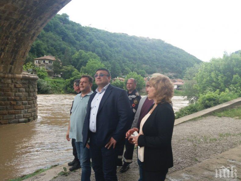 Младен Маринов: Ще се борим с природата, но превенцията е важна (СНИМКИ)