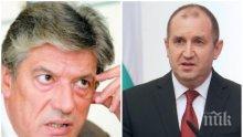 Доц. Антоний Гълъбов: Румен Радев продължава да стои извън институционалната си роля, опитва се да приседне на масата като политик