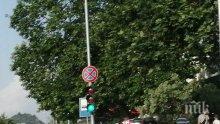НА КОСЪМ! Кола се заби като торпедо в бус до автобусна спирка с хора в Пловдив (СНИМКА)