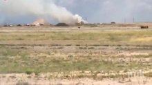 12 пожарникари са пострадали при взрив в склад за фойерверки в Ню Мексико (ВИДЕО)