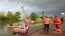 Ретро кораб, реставриран за 1,5 милиона евро, потъна в Германия