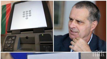 ПЪРВО В ПИК! Социологът Михаил Мирчев с нови скандални обвинения срещу ЦИК: Изтриха паметта от машините, преди да изтече срокът за обжалване