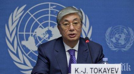 Масови арести в Казахстан в деня на президентските избори