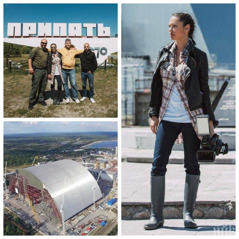 """САМО В ПИК! Калина Паскалева със смразяващ разказ за филма си в централата """"Чернобил"""": Татко и дядо се разболяха от рак, а Политбюро ги уби (СНИМКИ)"""