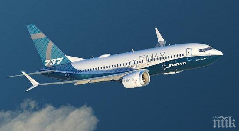 """Компанията """"Боинг"""" отложила с три години коригирането на дефект в самолетите 737 МАКС"""