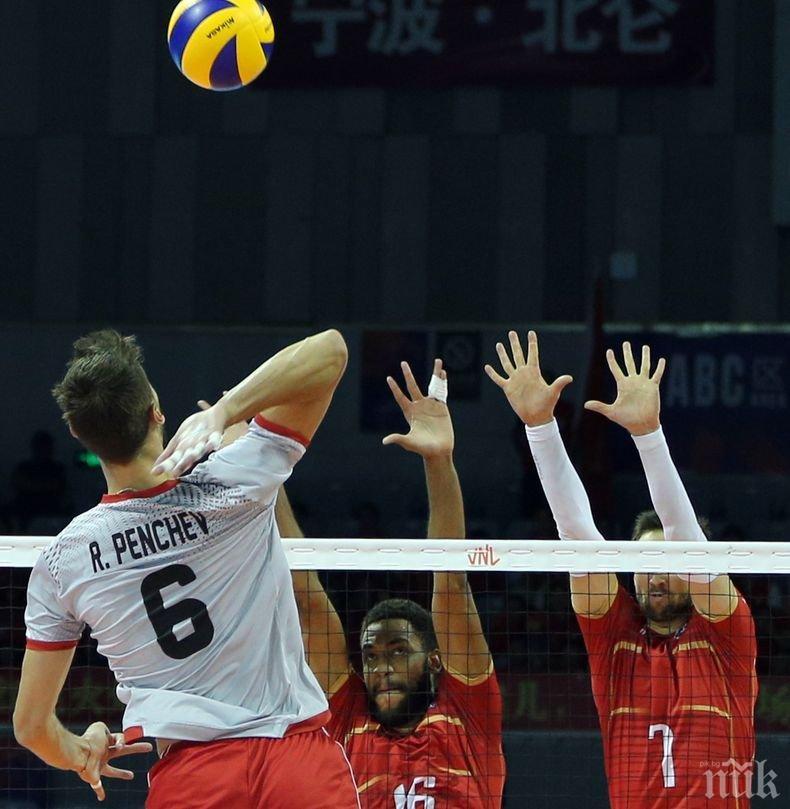Волейболните национали обърнаха Франция в Лигата на нациите