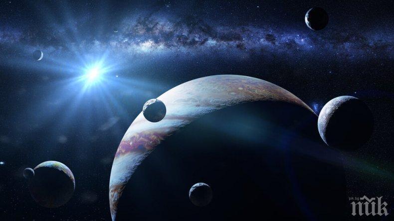 УНИКАЛНО ЯВЛЕНИЕ: Днес можем да видим Луните на Юпитер