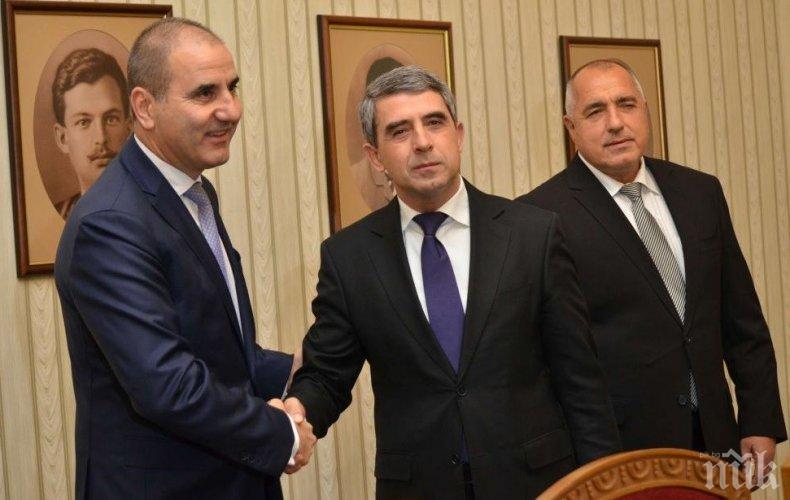Плевнелиев с провокация срещу Борисов, явно вдъхновена от Цветанов