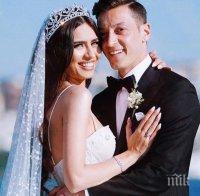 ЕКСКЛУЗИВНО: Снайперисти вардиха сватбата на Месут Йозил и Нур от