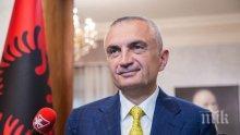 Албанските социалисти внесоха искане за отстраняване на президента на страната