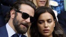 Звездна раздяла: Брадли Купър и Ирина Шейк сложиха край на връзката си