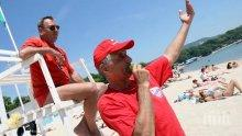 Инфаркти покосяват туристи на плаж край Бургас, областният сложи спасители
