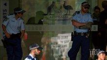 Екшън: Мъж рани тежко с нож полицай в Сидни