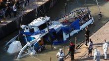 Извадиха още 4 удавника от потъналото корабче в Дунав