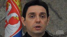 Белград: Разчитаме на помощта на Русия и Китай в случай на война на Балканите