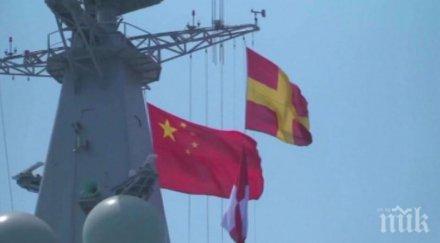 НАПРЕЖЕНИЕ: Китайски самолетоносач премина между японските острови