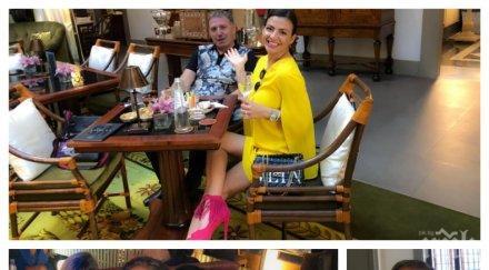 ГОРЧИВО: Деси Цонева се сгоди - вижте диаманта, с който Явор Стефанов й предложи да му стане съпруга (СНИМКА)