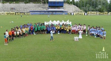 Музикални звезди и футболисти с благотворителен мач в Балчик
