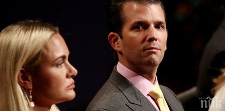 """Синът на Доналд Тръмп даде показания пред конгресмени по """"руското дело"""""""