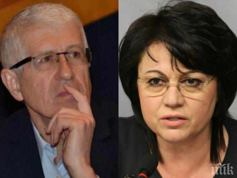 СКАНДАЛНА СХЕМА: Корнелия Нинова обещала на Румен Овчаров спиране на делото му за 29 млн. лв. – водила го при висши магистрати, за да си върне подкрепата му в БСП