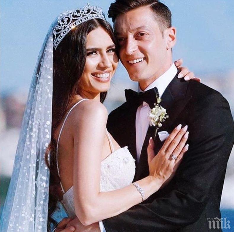 """ЕКСКЛУЗИВНО: Снайперисти вардиха сватбата на Месут Йозил и Нур от """"Сега и завинаги"""" (СНИМКИ/ВИДЕО)"""