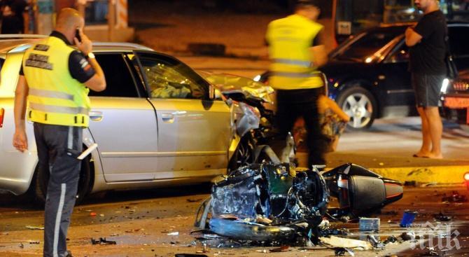 Моторист загина край Долна баня