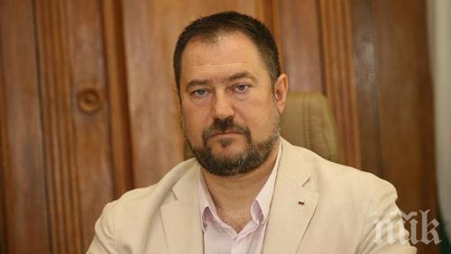 ИЗВЪНРЕДНО! Пускат от ареста шефа на ДАБЧ Петър Харалампиев срещу 100 хиляди лева гаранция