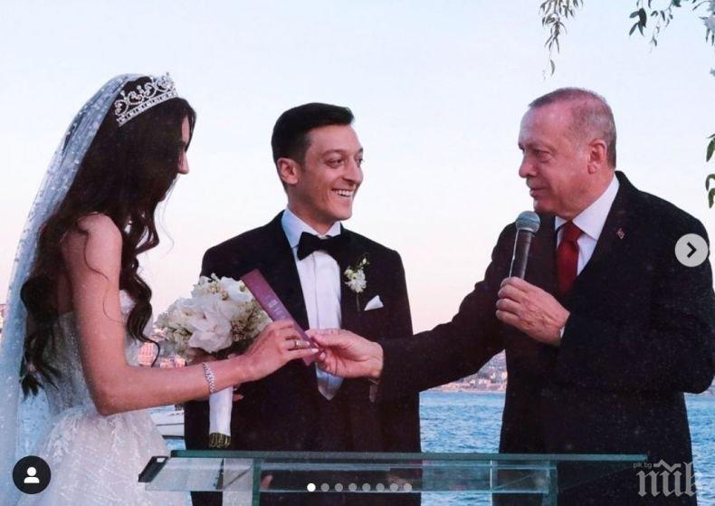 НЕВЕРОЯТНО: Месут Йозил плаща операциите на 1 000 деца по света в чест на сватбата си с Нур от Сега и завинаги