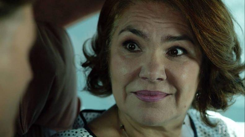 Марта Вачкова стана белокоса старица в италианска кино продукция