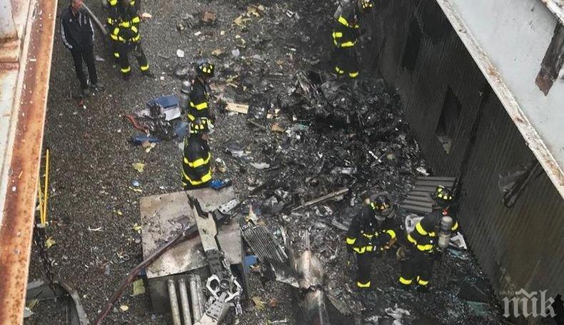 Властите в Ню Йорк разкриха самоличността на загиналия пилот при падането на хеликоптера в Манхатън (ВИДЕО)