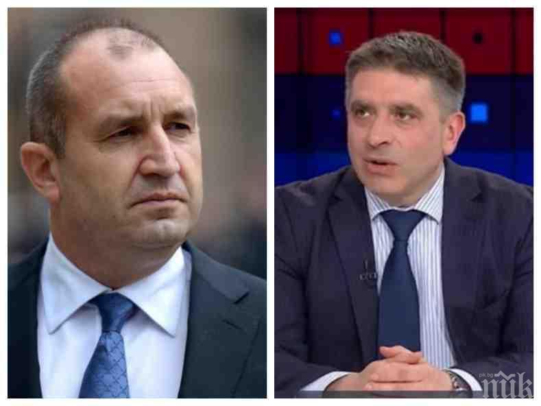 ГОРЕЩ КОМЕНТАР! Данаил Кирилов удари президента заради намесата му в номинирането на главен прокурор. Кални ли ще са изборите?