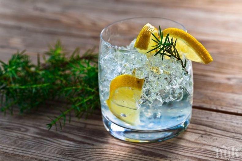 ХИТ НА БАРА: Джинът - полезен за здравето, топи килцата