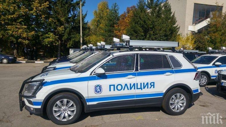 ЧЕСТИТО: Глиган потроши чисто нова патрулка на пътя Пещера-Пловдив