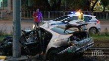 ИЗВЪНРЕДНО! Поредна жертва на катастрофа днес, почина 23-годишното момиче, ударило се в стълб в София