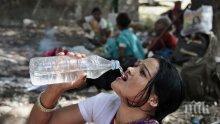 Непосилните горещини взеха 76 жертви в Индия