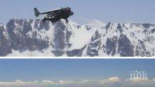 Хит: Швейцарец полетя с изобретен от него реактивен  костюм