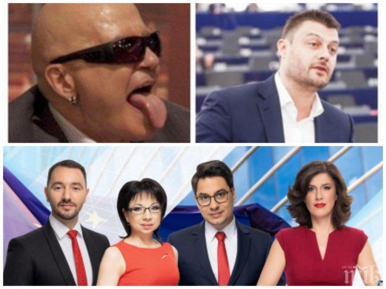Бареков изригна: Слави печели 2-3 милиона от Би Ти Ви! Хекимян, Индиеца и Жени Баджака взимат по 20 бона месечно