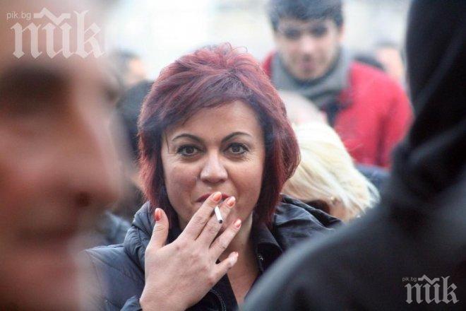 СИГНАЛ ДО ПИК: Корнелия Нинова с платен пуч от изчезналите пари на БСП - крими типове и цигански барони събирали участници