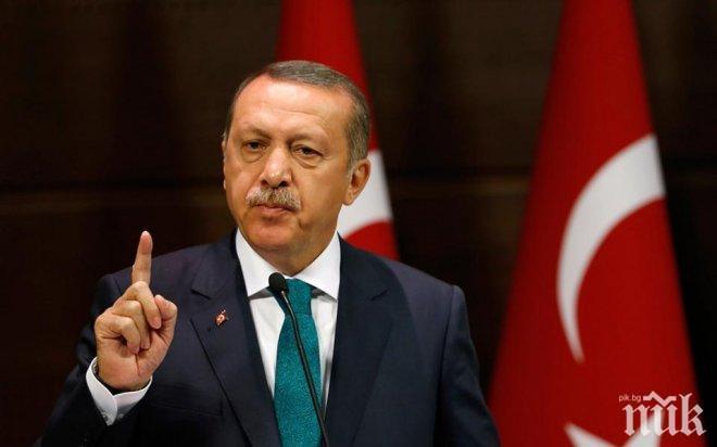Ердоган не се отказва от сондажните дейности в Кипър